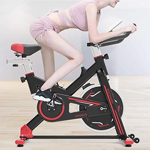 SXXYTCWL S700 Ménage Calme Spinning Vélo Sport intérieur de vélos équipement de Remise en Forme avec Affichage LED Porte-Tablette Mobile Roue jianyou