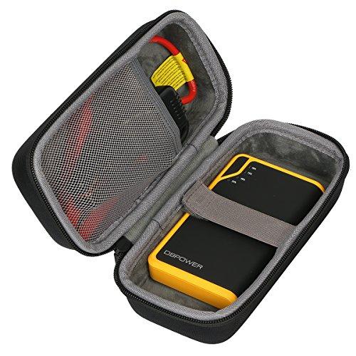 co2CREA Lagerung Tragen Taschen Hülle für db DBPOWER 300A Spitzenstrom 8000mAh Tragbare Auto Starthilfe Autobatterie Anlasser Externes Akku-Ladegerät