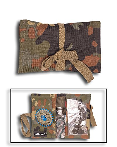 Mil-Tec BW Kits de Couture/LW Heer m.Etui Camouflage
