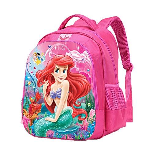 UNILIFE Mochila Infantil para Niña Mochila Princesa Disney S M L 3 Tamaños De Mochilas Escolares para Niñas De Primaria