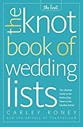 in budget affordable Wedding List Knot Book: A complete guide to the perfect day in every detail