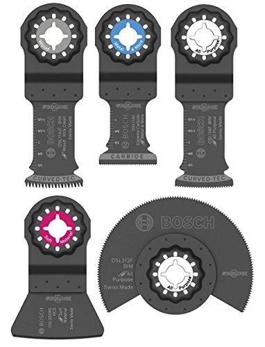 BOSCH OSL005C 5-teiliges Starlock Zubehörset mit Koffer, 1