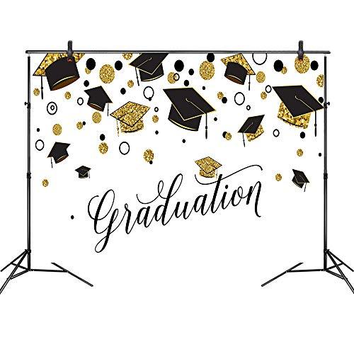 Graduation Cap Photo Booth Backdrop