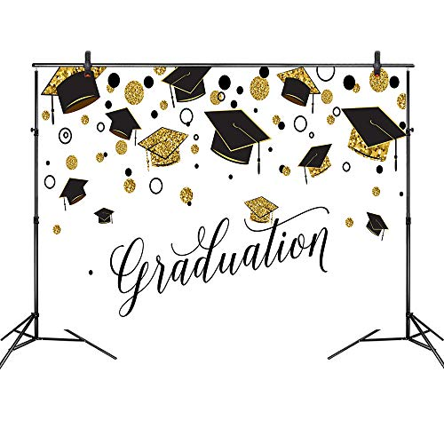 Graduation Cap Photo Booth Backdrop