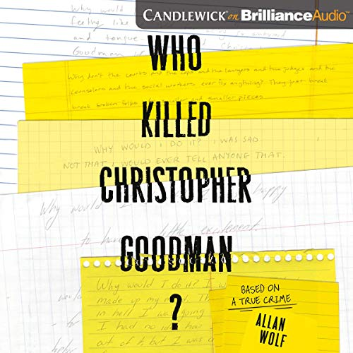 Who Killed Christopher Goodman? audiobook cover art