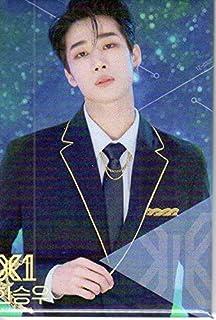 エックスワン X1 PRODUCE X 101 ハン・スンウ(Han Seungwoo) 顔入りバッチ 韓国 ap03...