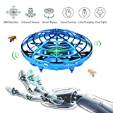 WALLE DronesforKids Boys FlyingToys Mini Hand Drones Toy with LED Lights for Boy