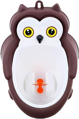 100% autentico LIZHISHENG Urinario bebé Niño urinario montado montado montado en la Parojo Niño urinario Niño parado Tipo Aseo Niño Inodoro café búho  n ° 1 en línea