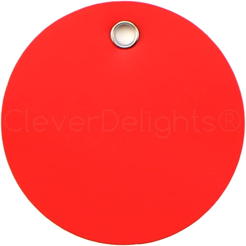 25 Pack - CleverDelights Red Tear-Proo 3