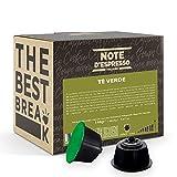 Note D'Espresso Cápsulas de Té Verde - 48 x 3 g, Total: 144 g
