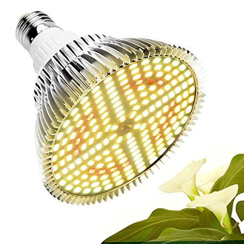 sdfkj 100W Bombilla LED para Cultivo Espectro Completo Lámpara LED Plantas Crecimiento Interior E27 Luces Led Cultivo 150 LED Grow Light para Interior Plantas Hidroponia Crecimiento y Floracion