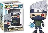 LJUCTD Funko Pop Naruto Shippuden Kakashi Figura de Vinilo Juguetes Kakashi (Lightning Blade) Figura...