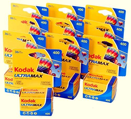 Kodak カラーネガフィルム 35mm ULTRAMAX400 36枚撮 10本セット