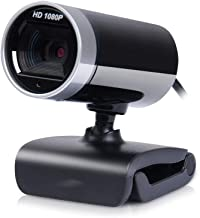 WDFDZSW HD Webcam, 1080P with Microphone Night Vision USB Desktop Laptop,Widescreen for Video Calling and Recording,Plug a...
