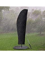 GEMITTO Funda Protectora para Parasol(diámetro 2-4 m), Cubierta Impermeable para sombrilla de jardín, Cubierta Impermeable con Cremallera para sombrilla