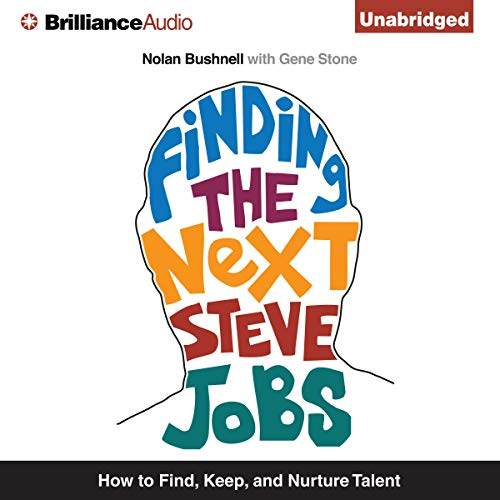 Finding the Next Steve Jobs audiobook cover art