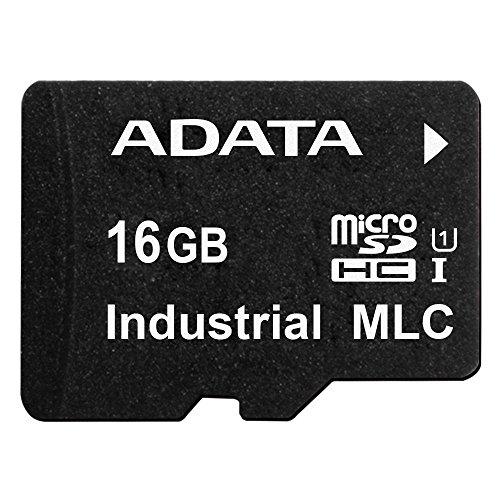 ADATA IDU3A Industrial-Grade MicroSD Card 16GB MLC- Wide Temperature (IDU3A-016GT)