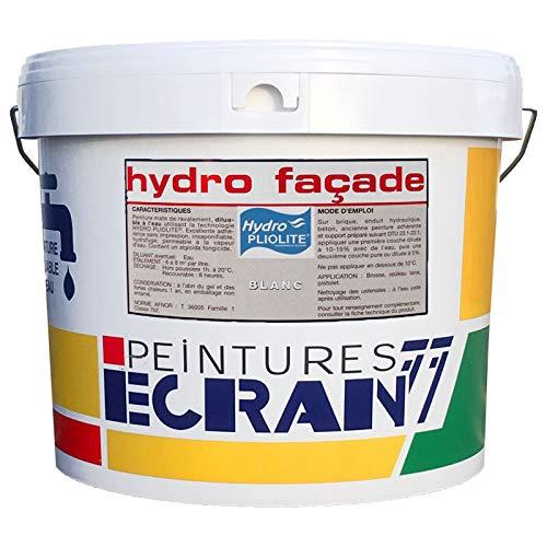 Peinture professionnelle hydro pliolite, protection et décoration façades extérieures, HYDRO...