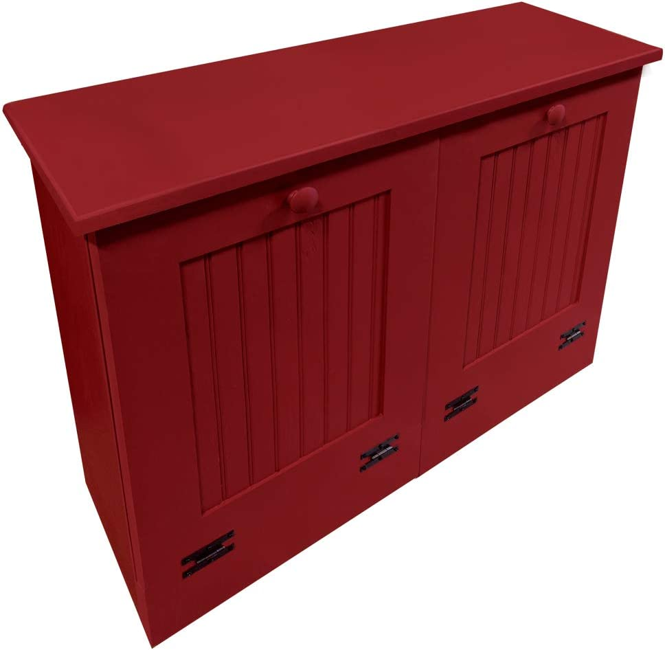 Sawdust City Kitchen Tilt Out Solid- Trash Red Bins In a Regular store popularity
