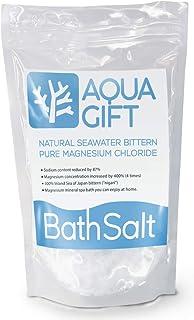 入浴剤 バスソルト AQUA GIFT 国産 マグネシウム 保湿 浴用化粧品 30回分 計量スプーン付