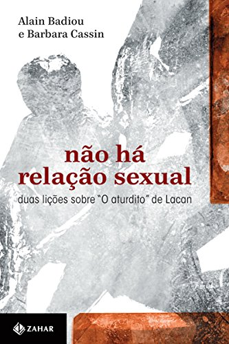 """Não há relação sexual: Duas lições sobre """"O aturdito"""" de Lacan (Transmissão da Psicanálise)"""