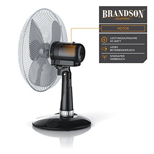 Brandson – Tischventilator 30cm | Tisch kaufen  Bild 1*