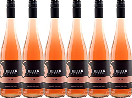 Huller Domina Rosé 2018 Halbtrocken (6 x 0.75 l)