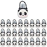 Xniral 25 STK Kinder Seife Wasserflasche Schlüsselbund 30ml Leere Reise Kunststoff Schlüsselbundträger mit Silikon Cartoon Fall auslaufsichere nachfüllbare Behälte(Q)