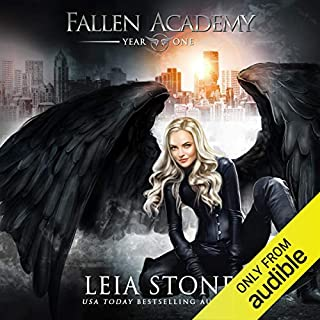 Fallen Academy: Year One audiobook cover art