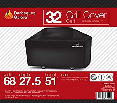 """Barbeques Galore 32"""" Universal Cover for Freestanding Grill"""