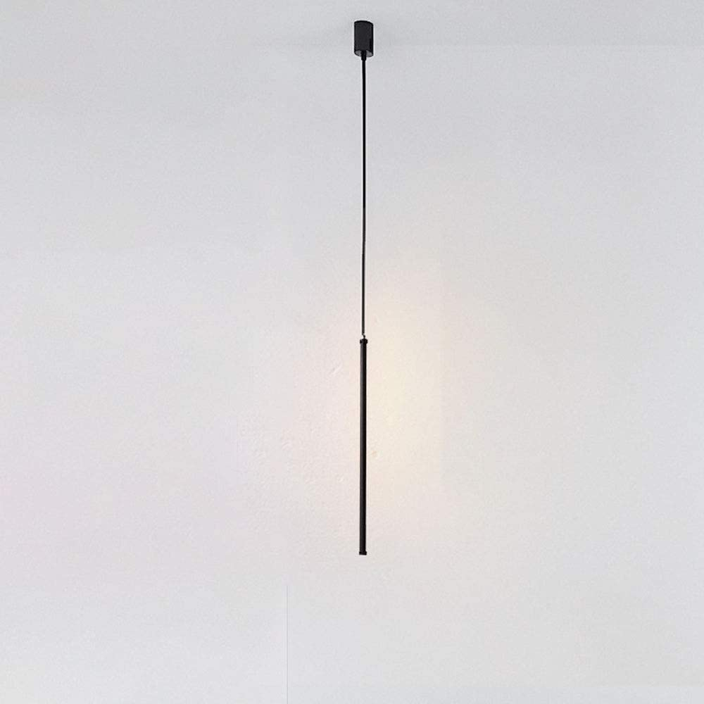 BGHDIDDDDD Lamp Led Minimalist Large special price !! Black Pendant Light Modern Soldering Tube