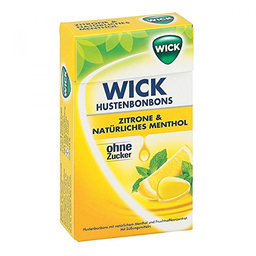 WICK Zitrone & natürliches Menthol Bonb.o.Z 46 g