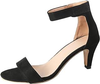 OverDose Sandales Été Sandales Femmes Talons Hauts Compensées Chic Chaussures de Soirée Sexy Escarpin Sandale Femme Scratc...