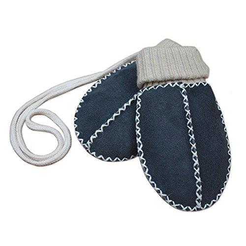 Heitmann Heitmann Baby Lammfellfäustel Baby Handschuhe anthrazit ca. 0 - 9 Monate