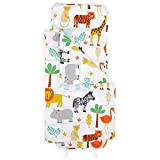 Bloomsbury Mill - Safari Adventure - Jungle Animals - Super Soft Toddler Nap Mat - Includes Pillow, Mat and Blanket - Ideal Gift & Sleep Bag for Kindergarten and Pre-School - 20' x 53'