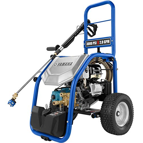 Lowest Prices! YAMAHA PW3028 3000 PSI 2.8 GPM 192cc Gas Powered Pressure Washer, Blue