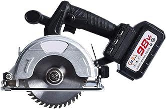 Multi Función Sierra eléctrica, 98VF 6000mAh circular Sierra eléctrica cortador de madera bisel de 45 ° 30 mm Profundidad de corte