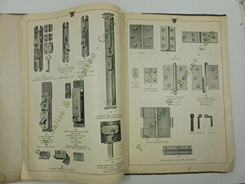 P.A. Salice & C. Romano. Cantu', Como. Ferramenta-ottonami. Specialita' serrature, guarnizioni ed affini per mobili