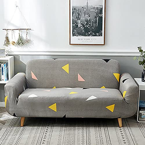 Fundas de sofá elásticas para Sala de Estar, Fundas elásticas de Material elástico, Fundas elásticas para sofá, Funda para Silla, sofá en Forma de L A9, 2 plazas