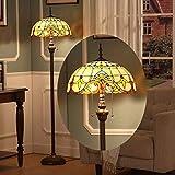 ✔ Dimensioni lampada a stelo : altezza totale 160 cm, diametro paralume 40 cm, 2 teste lampada E27, adatte per risparmio energetico, luci a LED, lampade a incandescenza (senza sorgente luminosa), potenza: max 60