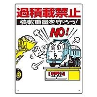 【ユニット】交通安全標識 過積載禁止 [品番:306-04]