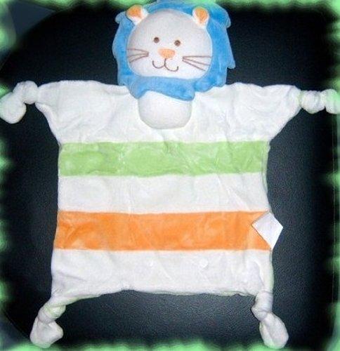 Doudou lion de (env. 35 cm) – à Cajoler mesurant, jolie et jouer – Composition : 75% coton + 25% Polyester – Garnissage : 100% Polyester