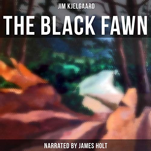 The Black Fawn audiobook cover art