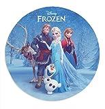 Disney Frozen Tortenaufleger Sven, Kristoff, Anna & ELSA, essbar aus Zucker (16cm)