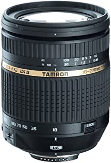 Tamron AF 18-270mm f/3.5-6.3 Di II VC LD Aspherical IF Macro Zoom Lens for Canon Digital SLR Cameras (Model B003E) (Discontinued by Manufacturer)