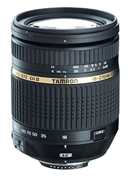 Tamron AF 18-270mm f/3.5-6.3 Di II VC LD Aspherical IF Macro Zoom Lens for Canon Digital SLR Cameras  Model B003E   Discontinued by Manufacturer