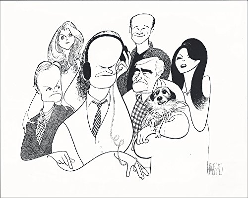 Al Hirschfeld's FRASIER Hand Signed Limited Edition Lithograph