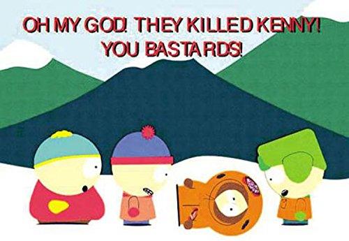 1art1 South Park - They Killed Kenny! Poster 102 x 69 cm