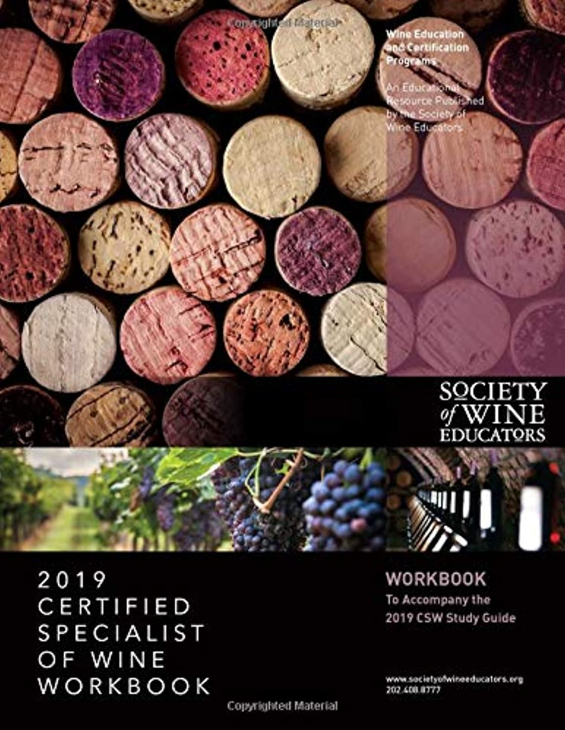 早熟年金受給者感心する2019 Certified Specialist of Wine Workbook