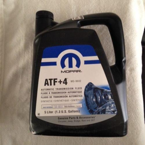MOPAR ATF + 4 Transmisión automática y fluido de dirección asistida 5L 68218058AA 68218058CA